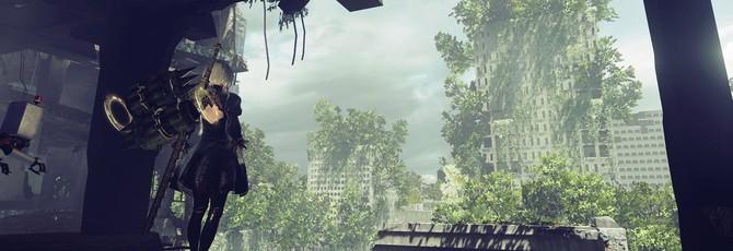 Геймплей и подробности со стрима NieR: Automata