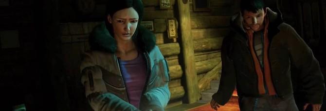 40 минут ранней версии хоррора Until Dawn на PS3
