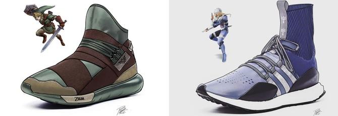 Adidas должна выпустить эти шикарные кроссовки The Legend of Zelda