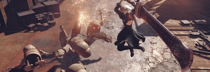Новый геймплей NieR: Automata — кастомизация и квесты