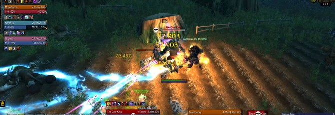 В WoW появился секретный уровень с коровами из Diablo