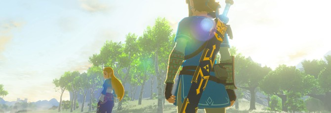 The Legend of Zelda: Breath of the Wild займет половину всей памяти Switch