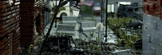 Уровень из The Last of Us воссоздан с помощью Lego