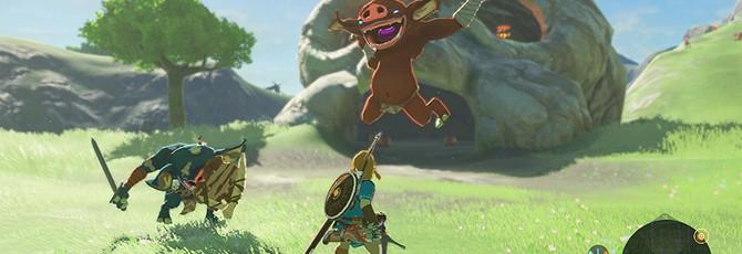 Над The Legend of Zelda: Breath of the Wild работали 300 человек