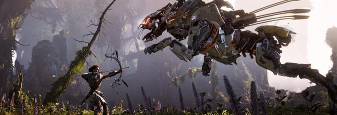 Horizon: Zero Dawn работает на PS4 Pro в разрешении 2160р