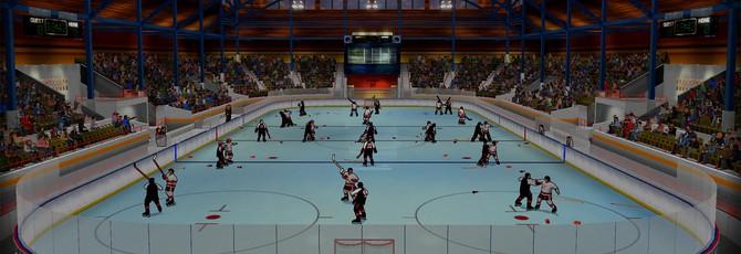 Аркадный хоккейный симулятор для взрослых Old Time Hockey выходит в конце марта