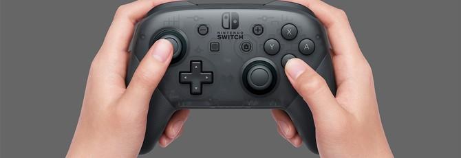 Про-контроллер Nintendo Switch работает на PC
