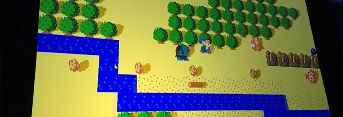 Первый прототип Zelda: Breath of the Wild выглядел как игра 80-ых