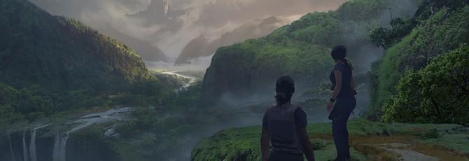 Джунгли и руины на концепт-артах Uncharted: The Lost Legacy