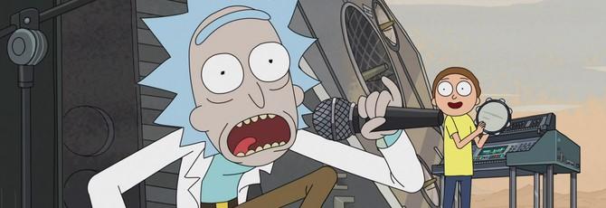 Первый эпизод нового сезона Rick and Morty вышел вчера