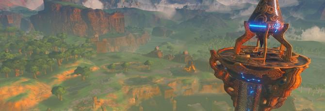 В новых играх The Legend of Zelda будет открытый мир