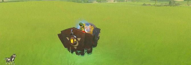 Игрок соорудил магический карт в Zelda: Breath of the Wild