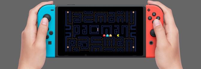 Классические аркадные игры Namco выйдут на Nintendo Switch