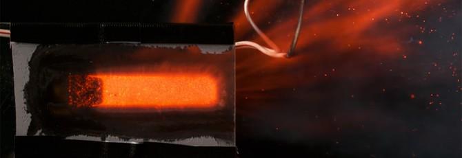 Вот как выглядит ракетный двигатель в разрезе