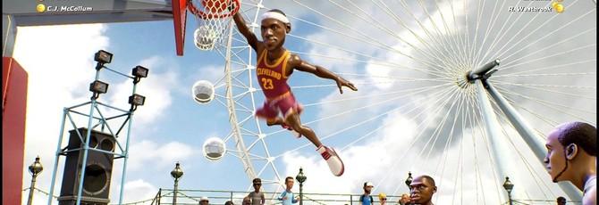 Объявлен полный ростер NBA Playgrounds