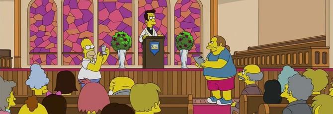 Новую серию The Simpsons не показали в России из-за РПЦ