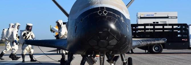 ВВС США посадили секретный мини-шатл после двух лет на орбите