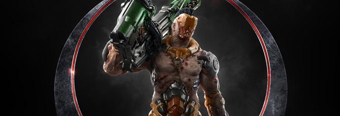 Новое видео персонажа Quake Champions — прыгающий Визор