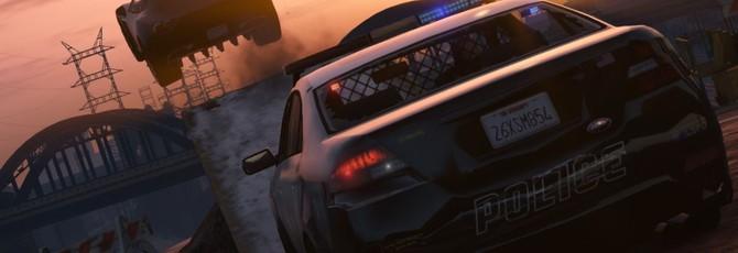 Наблюдение за полицейскими в GTA 5 как повод для смеха