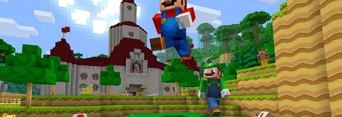 Пять минут Super Mario World в Minecraft на Nintendo Switch