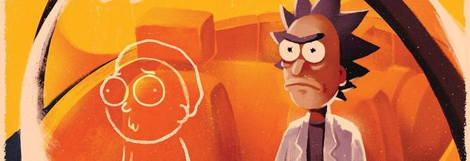 Над новым выпуском комикса Rick and Morty работали создатели Firewatch