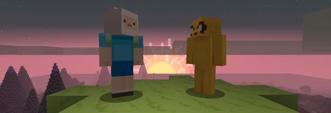 Персонажи Adventure Time появятся в Minecraft