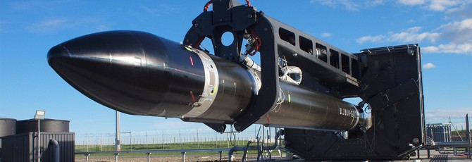 Новозеландцы запустили ракету из углеродного волокна