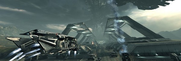 Скриншоты Dust 514 с Фанфеста EVE