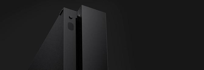 Xbox One X можно будет поставить вертикально