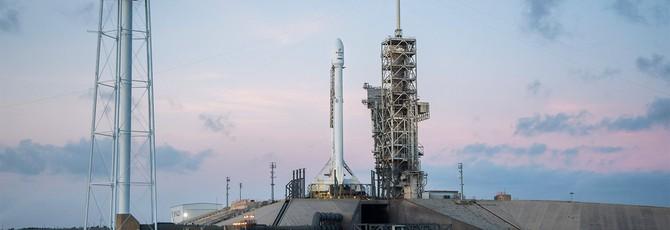 SpaceX второй раз успешно посадила повторно используемую ракету Falcon 9