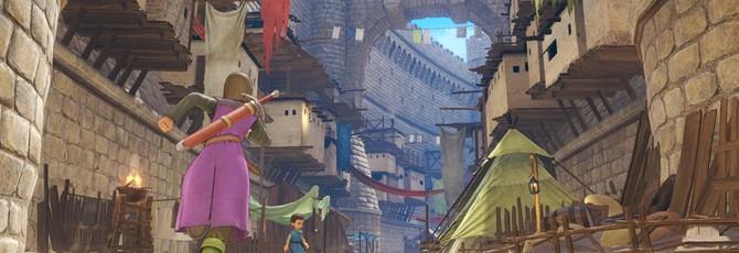 Новые скриншоты  Dragon Quest XI