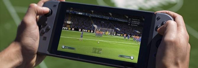 Nintendo Switch отлично справляется с FIFA 18 в 1080p60fps при домашнем режиме