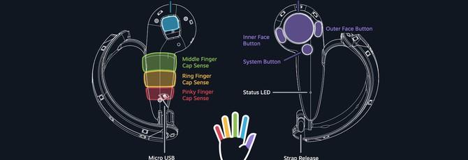 """Новый """"кулачный"""" контроллер Steam VR держится в руках сам по себе"""