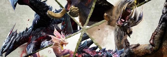 Битва с боссом в новом видео Monster Hunter XX