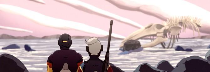 Сюрреалистический инопланетный мир в анимационной короткометражке Panacée