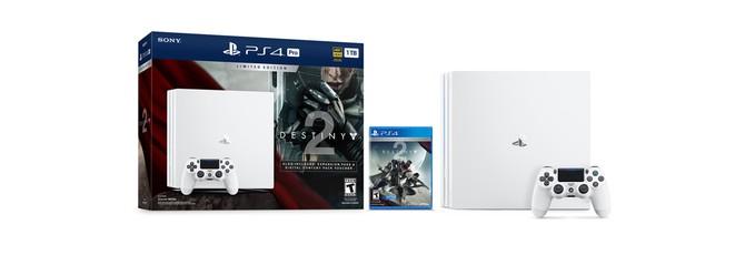 Анонс белой PS4 Pro в бандле с Destiny 2