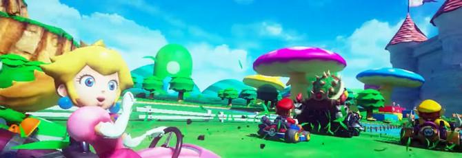 Mario Kart VR выглядит чертовски захватывающе
