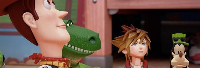 """Kingdom Hearts III выходит в 2018 году, получит новый мир — """"Историю Игрушек"""""""