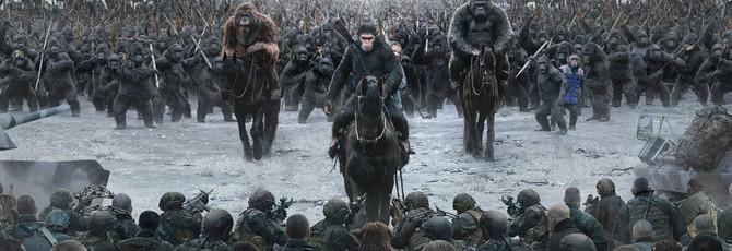 """""""Планета обезьян: Война"""" стартовала со 100 миллионов долларов"""