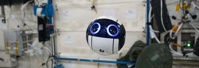 Милота в космосе — японский сферический робот на МКС