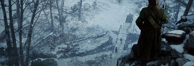 """Полтора часа геймплея на снежной карте из DLC Battlefield 1— """"Во имя Царя"""""""