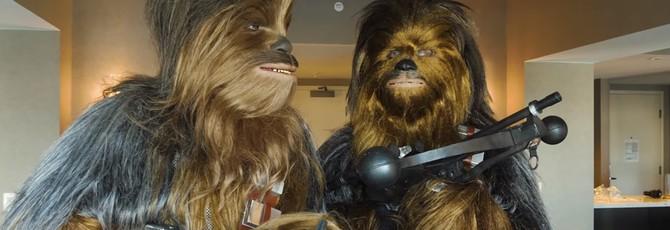 Адам Сэвидж снова тайно посетил Comic-Con — в костюме Чубакки
