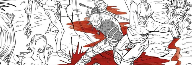 Dark Horse выпустит раскраску для взрослых по The Witcher