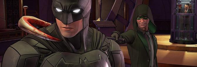 Первые 20 минут Batman: The Enemy Within
