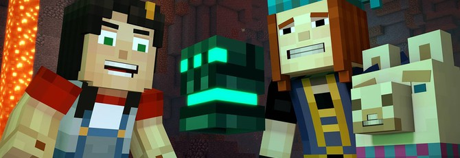 Даты релиза второго эпизода Minecraft: Story Mode Season 2 и первого сезона на Switch