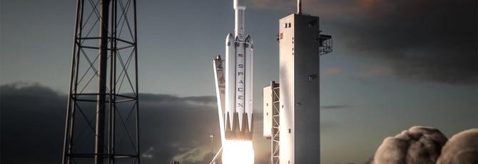 Илон Маск показал анимацию запуска самой мощной активной ракеты в мире