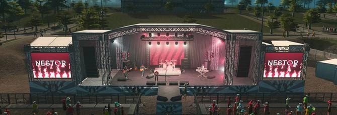Музыкальные фестивали появятся в Cities: Skylines