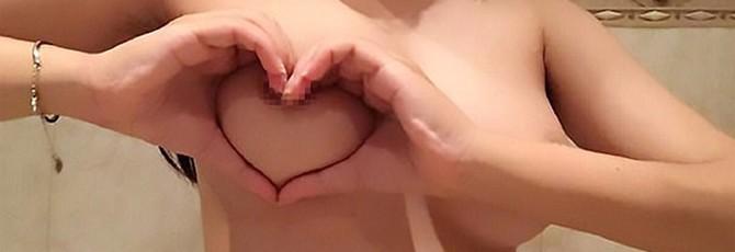 [NSFW] Грудь в форме сердца — новый интернет-челлендж среди азиаток