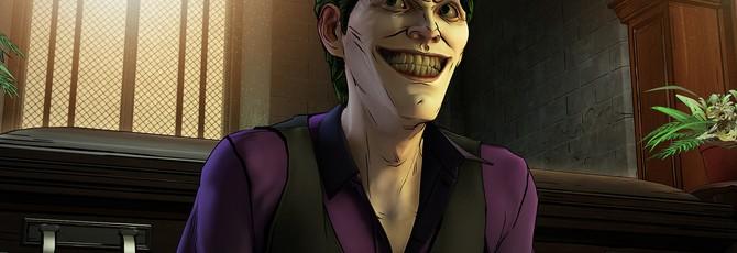 Telltale Games о Джокере в Batman: The Enemy Within