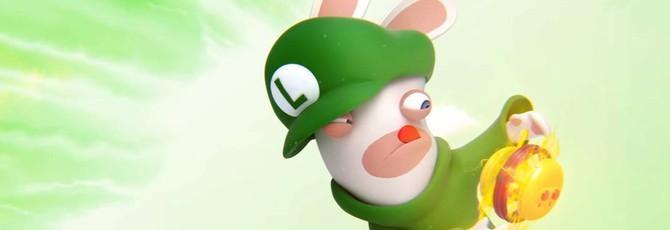Кролег Луиджи в новом трейлере Mario+Rabbids: Kingdom Battle